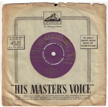 Elvis Presley - All shook up c/w That's when your heartaches begin (HMV Gold Lettering)